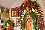 Our Lady of Guadalupe Shrine--El oratorio de Juan Diego y la sacrada familia built by the Vigil family, San Luis Valley, Colo.
