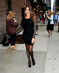 "Celebrities Visit ""LateShow with David Letterman"" September 22, 2011"