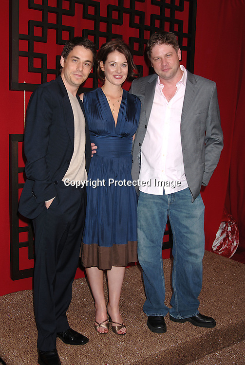 "Cast of ""Happy Hour""  John Sloan, Beth Lacke..and Lex Medlin..at The Fox Upfront 2006-2007  Fall Announcement ..of their new Schedule on May 18, 2006..at Guastavinos...Robin Platzer, Twin Images"