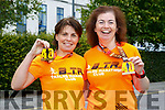 At the third annual Born to Run 40 Mile Ultra Marathon on Saturday were Rose Brosnan and Betty Brosnan
