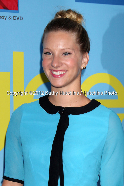 LOS ANGELES - SEP 12:  Heather Morris arrives at the Glee 4th Season Premiere Screening at Paramount Theater on September 12, 2012 in Los Angeles, CA