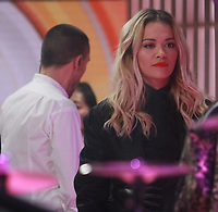 NEW YORK, NY February 1: Rita Ora and Liam Payne perform at NBC's Today in New York City on February 1, 2018. <br /> CAP/MPI/RW<br /> &copy;RW/MPI/Capital Pictures