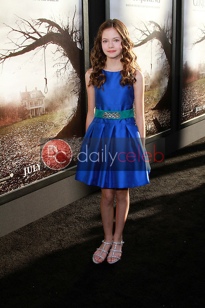 Mackenzie Foy<br />