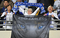 Leicester City fans<br /> <br /> Photographer Kevin Barnes/CameraSport<br /> <br /> The Premier League -  Cardiff City v Leicester City - Saturday 3rd November 2018 - Cardiff City Stadium - Cardiff<br /> <br /> World Copyright © 2018 CameraSport. All rights reserved. 43 Linden Ave. Countesthorpe. Leicester. England. LE8 5PG - Tel: +44 (0) 116 277 4147 - admin@camerasport.com - www.camerasport.com