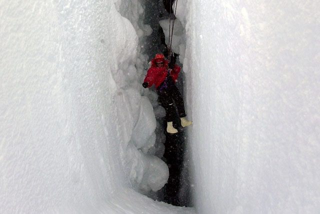 Crevasse training, McMurdo Station, Antarctica