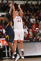 STANFORD, CA - JANUARY 2:  Joslyn Tinkle of the Stanford Cardinal during Stanford's 79-58 win over the California Golden Bears on January 2, 2010 at Maples Pavilion in Stanford, California.