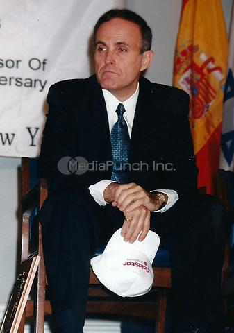 Rudy Giuliani 1998<br /> Photo to By John Barrett/PHOTOlink/MediaPunch