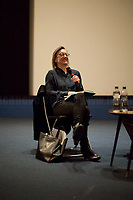 """Clare Longrigg.<br /> <br /> London, 25/03/2017. Today, CinemaItaliauk held the premiere of the Italian movie """"In Guerra Per Amore"""" (At War With Love) at the Genesis Cinema in London's Whitechapel (On London's 11 Best Independent Cinemas list). Special guest of the event was the Director and main actor of the movie Pif (Aka Pierfrancesco Diliberto, Italian television host and film director and actor and writer) who held a Q&A with Clare Longrigg, deputy Editor of the Guardian. After the success with """"The Mafia Kills Only in Summer"""" (2013), Pif is back with a love comedy based on true facts in which the Sicilian Director shows the agreement, made during World War II between the US Army and the Sicilian mafia, to invade and occupy Sicily without provoking any trouble, re-establishing the criminal power of """"Cosa Nostra"""" on the Italian southern island. <br /> <br /> For more information please click here: http://www.imdb.com/title/tt5263116/ & https://www.facebook.com/events/237675699972952/ & https://www.facebook.com/CinemaItaliaUk/"""