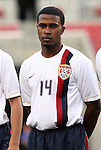 15 March 2008: Robbie Findley (USA). The United States U-23 Men's National Team defeated the Honduras U-23 Men's National Team 1-0 at Raymond James Stadium in Tampa, FL in a Group A game during the 2008 CONCACAF's Men's Olympic Qualifying Tournament.