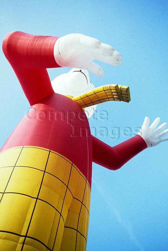 Rupert the Bear hot air balloon