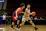 Nagoya Diamond Dolphins vs Ryuku Golden Kings during The Asia League's 'The Terrific 12' Semi-final match at Studio City Event Center on 22 September 2018, in Macau, Macau. Photo by Yu Chun Christopher Wong / Power Sport Images for Asia League