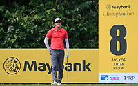 Dylan Frittelli (RSA) in action on the 8th tee during Round 2 of the Maybank Championship at the Saujana Golf and Country Club in Kuala Lumpur on Friday 2nd February 2018.<br /> Picture:  Thos Caffrey / www.golffile.ie<br /> <br /> All photo usage must carry mandatory copyright credit (&copy; Golffile | Thos Caffrey)