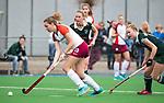 ALMERE - Hockey - Overgangsklasse competitie dames ALMERE- ROTTERDAM (0-0) .  Lucca van der Hoorn (Almere)  COPYRIGHT KOEN SUYK