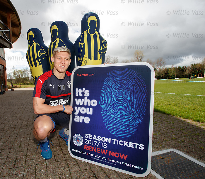 Martyn Waghorn promoting season ticket renewals