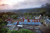 INDONESIA, Flores, birds eye view of Saga Village