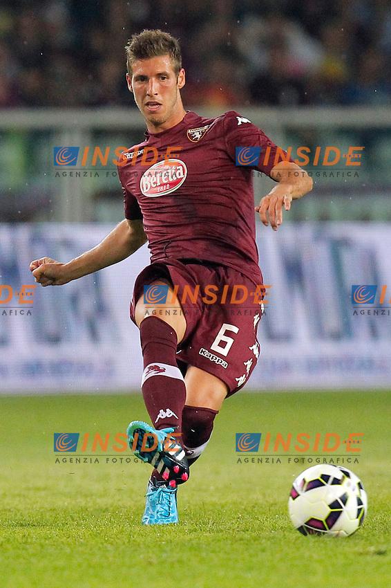 Ruben Perez Torino, Torino 7-8-2014, Stadio Olimpico, Football Calcio 2014/2015 Europa League, Torino - Brommapojkarna, Foto Marco Bertorello/Insidefoto