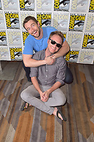 Robert Buckley und David Anders beim Photocall zur TV-Serie 'iZombie' auf der San Diego Comic-Con International 2017 im Hilton Bayfront Hotel. San Diego, 21.07.2017