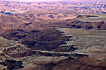 Canyonlands National Park as seen from Islands in the Sky