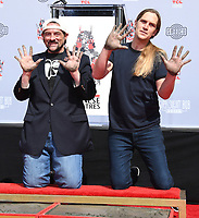Kevin Smith And Jason Mewes Hands And Footprint Ceremony