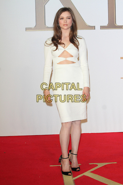 LONDON, ENGLAND - JANUARY 14: Sophie Cookson attends the World Premiere of 'Kingsman: The Secret Service' at the Odeon Leicester Square on January 14, 2015 in London, England<br /> CAP/ROS<br /> &copy;Steve Ross/Capital Pictures