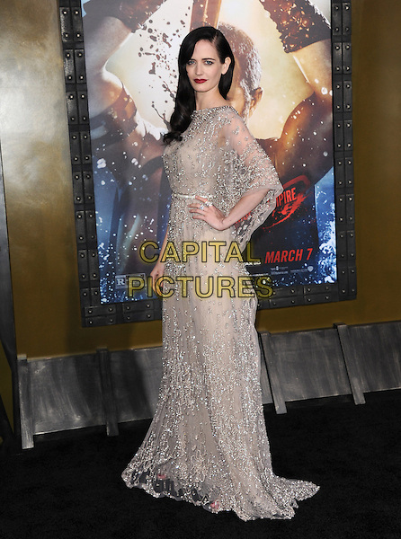 Eva Green attends The Warner Bros. Pictures L.A. Premiere of 300 : Rise of an Empire held at The TCL Chinese Theatre in Hollywood, California on March 04,2014                                                                               <br /> CAP/DVS<br /> &copy;DVS/Capital Pictures