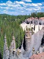 The Pinnacles at Crater Lake National Park, Oregon