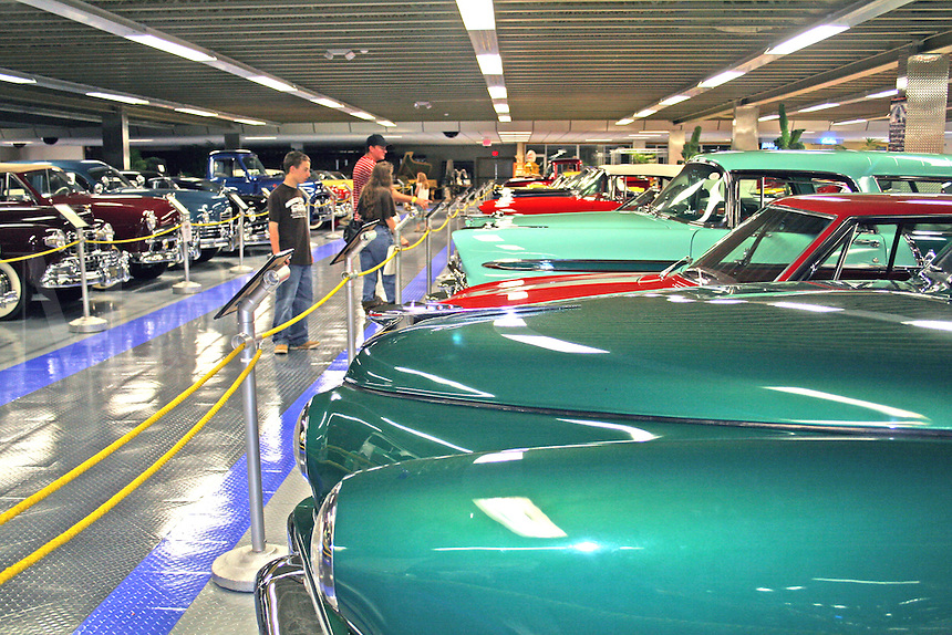 People touring Tallahassee Automobile Museum Tallahassee Florida