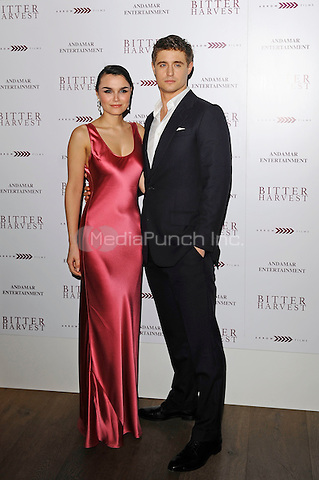 LONDON, ENGLAND - FEBRUARY 20:  Samantha Barks and Max Irons attending 'Bitter Harvest' Gala Screening at The Ham Yard Hotel on February 20, 2017 in London, England.<br /> CAP/MAR<br /> &copy;MAR/Capital Pictures /MediaPunch ***NORTH AND SOUTH AMERICAS ONLY***