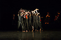 London, UK. 15.04.2014. National Youth Dance Company present the world premiere of RASHOMON EFFECT/ VERTICAL ROAD, at Sadler's Wells. Guest Artistic Director for 2014 is Akram Khan. The dancers range in age from 16 - 19. Picture shows: Rashomon Effect. Photograph © Jane Hobson.