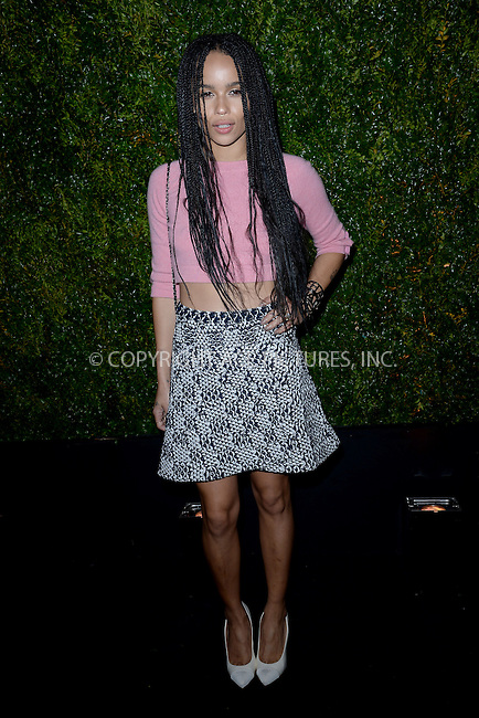 WWW.ACEPIXS.COM<br /> April 20, 2015 New York City<br /> <br /> Zoe Kravitz attending the 2015 Tribeca Film Festival CHANEL Artists Dinner at Balthazer on April 20, 2015 in New York City.<br /> <br /> Please byline: Kristin Callahan/AcePictures<br /> <br /> ACEPIXS.COM<br /> <br /> Tel: (646) 769 0430<br /> e-mail: info@acepixs.com<br /> web: http://www.acepixs.com