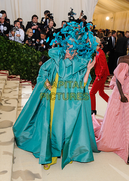 07 May 2018 - New York, New York - Frances McDormand. 2018 Metropolitan Museum of Art Costume Institute Gala: &quot;Heavenly Bodies: Fashion and the Catholic Imagination. <br /> CAP/ADM/CS<br /> &copy;CS/ADM/Capital Pictures