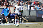 24 February 2013: Vancouver's Ethen Sampson. The NASL Carolina RailHawks played MLS's Vancouver Whitecaps FC at WakeMed Stadium in Cary, North Carolina in a 2013 preseason game. Vancouver won the game 3-0.