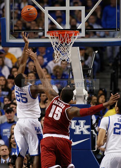 UK guard Marquis Teague shoots a layup during the second half of the UK Men's basketball game against Alabama on 1/21/12 in Lexington, Ky. Photo by Quianna Lige | Staff