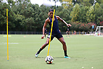 CARY, NC - JULY 27: Jessica McDonald. The North Carolina Courage held a training session on July 27, 2017, at WakeMed Soccer Park Field 7 in Cary, NC.