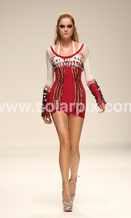 **ALL ROUND PICTURES FROM SOLARPIX.COM**                                             **WORLDWIDE SYNDICATION RIGHTS**                                                                                  Caption: The Mark Fast catwalk runway show as part of London Fashion Week 2010. London, UK. 20 September 2010                                                                              This pic: Mark Fast show                                                                                             JOB REF: 12147 MLW       DATE: 20_09_2010                                                           **MUST CREDIT SOLARPIX.COM OR DOUBLE FEE WILL BE CHARGED**                                                                      **MUST AGREE FEE BEFORE ONLINE USAGE**                               **CALL US ON: +34 952 811 768 or LOW RATE FROM UK 0844 617 7637**