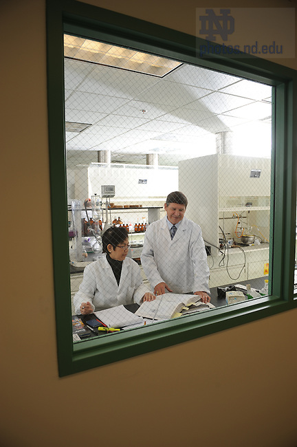 Michael Flavin, '78 and his company, Advanced Life Sciences in suburban Chicago, are working on an anti-pnemonia drug.