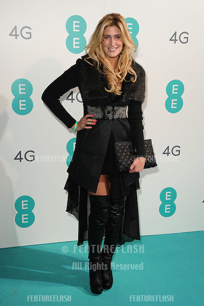 Francesca Hull arriving for the Everything Everywhere 4G launch party at Battersea Power Station, London. 01/11/2012 Picture by: Steve Vas / Featureflash