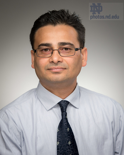 May 11, 2017; Madhav R. Joshi, Research Associate Professor, University of Notre Dame (Photo by Matt Cashore/University of Notre Dame)