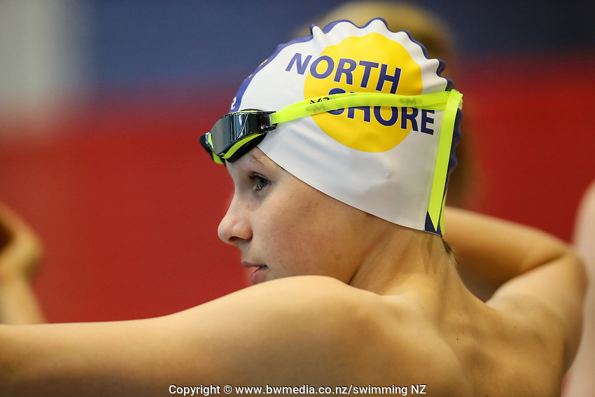 Swimming New Zealand Aon National Age Group Championships, Wellington Regional Aquatic Centre, Wellington, New Zealand, Tuesday 15 2019. Photo: Simon Watts/www.bwmedia.co.nz