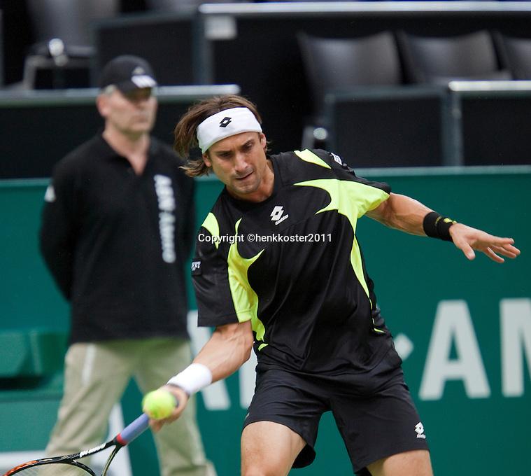 2011-02-08, Tennis, Rotterdam, ABNAMROWTT,   David Ferrer,