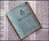 BNPS.co.uk (01202 558833)<br /> Pic: PhilYeomans/BNPS<br /> <br /> Edna Howletts RAF service book - no mention is made of the Top Secret facility where she worked. <br /> <br /> Secret rooms at a stately home where brilliant map-makers played a pivotal role in helping Britain to win the war have been opened to the public for the first time.<br /> <br /> Hughenden Manor, in Bucks, once home to the Victorian prime minster Benjamin Disraeli, was requisitioned by the Air Ministry in 1941 and given the codename 'Hillside'.<br /> <br /> In its confines, more than 3,500 hand drawn maps were produced for the RAF bombing campaigns, including the legendary Dambusters Raid and a raid on the Berchtesgaden, Hitler's famous mountain retreat.<br /> <br /> Previously hidden away under lock and key, these rooms have been opened for the first time for a permanent display featuring photographs, records and testimonies from some of the 100 men and women who were based there in World War Two.<br /> <br /> Since they were sworn to silence under the Official Secrets Act, Hillside's crucial wartime role in fact remained unknown until 2004, when a volunteer room guide overheard Victor Gregory, a visitor to the National Trust property, tell his grandson that he was stationed there during the war.