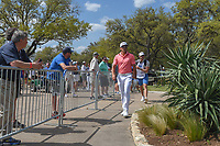 Rafael Cabrera Bello (ESP) departs the 10th tee during day 2 of the World Golf Championships, Dell Match Play, Austin Country Club, Austin, Texas. 3/22/2018.<br /> Picture: Golffile | Ken Murray<br /> <br /> <br /> All photo usage must carry mandatory copyright credit (&copy; Golffile | Ken Murray)