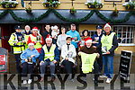 Mayor of Tralee Cllr. Norma Foley Launches the Bill Kirby Memorial St Stephens Day walk on Tuesday 26th December ,in aid of The Kerry Hospice. Asssembly point outside the Brogue Inn at 11am, depart at 11.30am, organised by Michael Fox O'Connor. Pictured Sis O'Connor, Sergeant Eileen O Sullivan, Frank Greaney from Listowel, Fiona Cotter, Kirby's Brogue Inn, Dan Galvin from The Kerry Hospice, Aidan O'Mahony, Siobhán Donnelly, Tralee Credit Union, Mark Leen, Crll Sam Locke, Michael Fox O'Connor, Joe Hennebury, Kathy Murphy