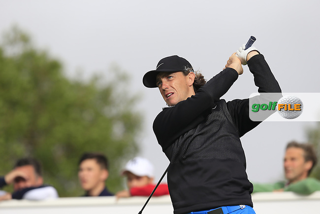 Tommy FLEETWOOD (ENG)  tees off the 9th tee during Saturday's Round 3 of the Portugal Masters 2015 held at the Oceanico Victoria Golf Course, Vilamoura Algarve, Portugal. 15-18th October 2015.<br /> Picture: Eoin Clarke | Golffile<br /> <br /> <br /> <br /> All photos usage must carry mandatory copyright credit (&copy; Golffile | Eoin Clarke)