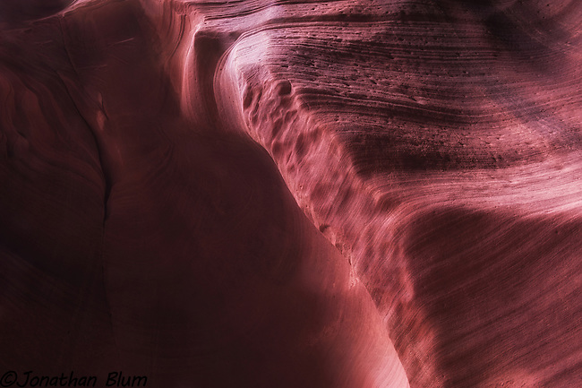 Glowing Wall, Canyon X