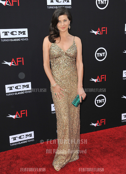 Daphne Zuniga at the 41st AFI Life Achievement Award honoring Mel Brooks at the Dolby Theatre, Hollywood.<br /> June 6, 2013  Los Angeles, CA<br /> Picture: Paul Smith / Featureflash
