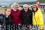 At Glenbeigh Races l-r: Leona, Gerard & Patrick Clifford with Joan O'Sullivan