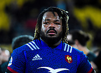 France's Mathieu Bastareaud after the Steinlager Series international rugby match between the New Zealand All Blacks and France at Westpac Stadium in Wellington, New Zealand on Saturday, 16 June 2018. Photo: Dave Lintott / lintottphoto.co.nz