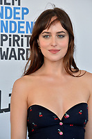 SANTA MONICA, CA. February 23, 2019: Dakota Johnson at the 2019 Film Independent Spirit Awards.<br /> Picture: Paul Smith/Featureflash