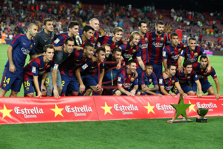 49e Trofeu Joan Gamper.<br /> FC Barcelona vs Club Leon FC: 6-0.